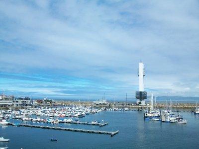 Marina of La Coruña, Spain