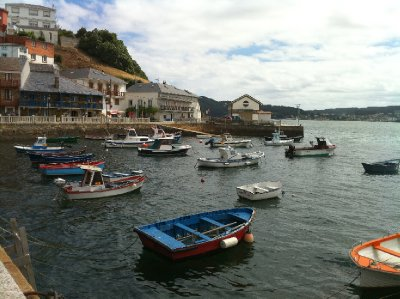 Boats Docked in El Barquero, Spain