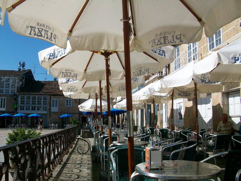 """Cafe Bar """"Plaza"""" in Celanova, Spain"""