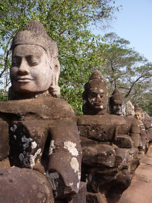 Angkor Thom - Brama (1)