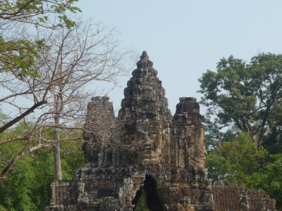 Angkor Thom - Brama (2)