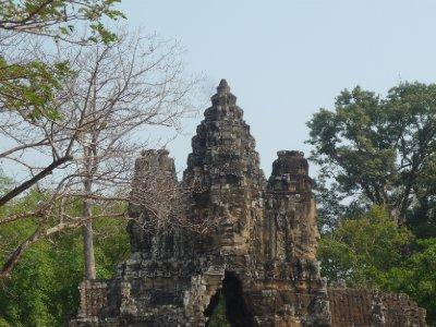 Angkor Thom - Brama (2)