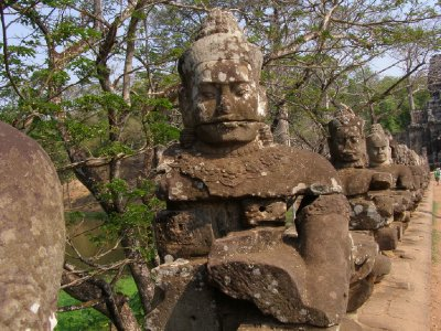 Angkor Thom - Brama (3)