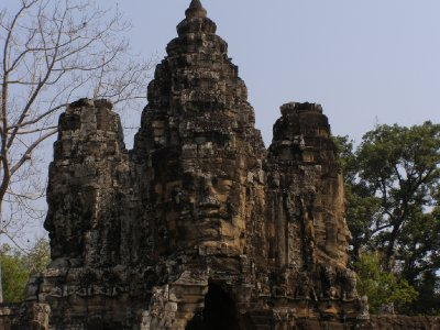 Angkor Thom - Brama (4)