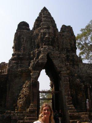 Angkor Thom - Brama (5)