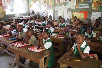 Pell River classroom