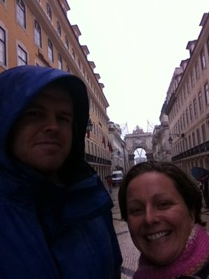Rainy Lisbon