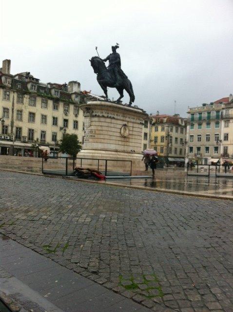 Praca Figueiras in Lisbon