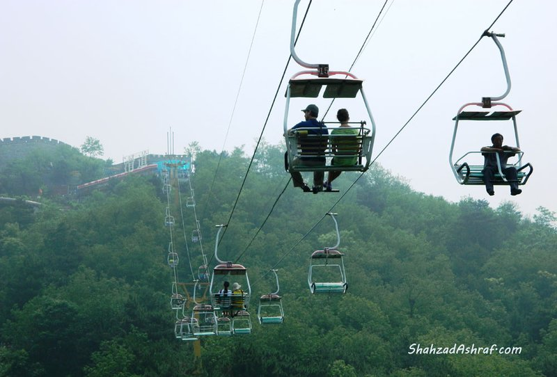 Ropeway to The Great Wall of China