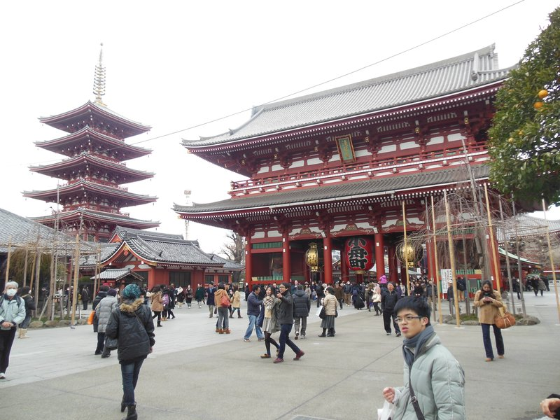 Views around Asakusa...