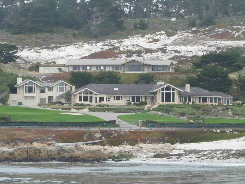 Carmel 17 Mile Drive Houses