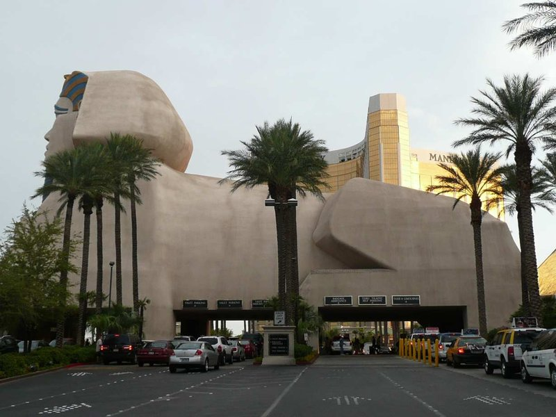 Las Vegas Luxor sfinks