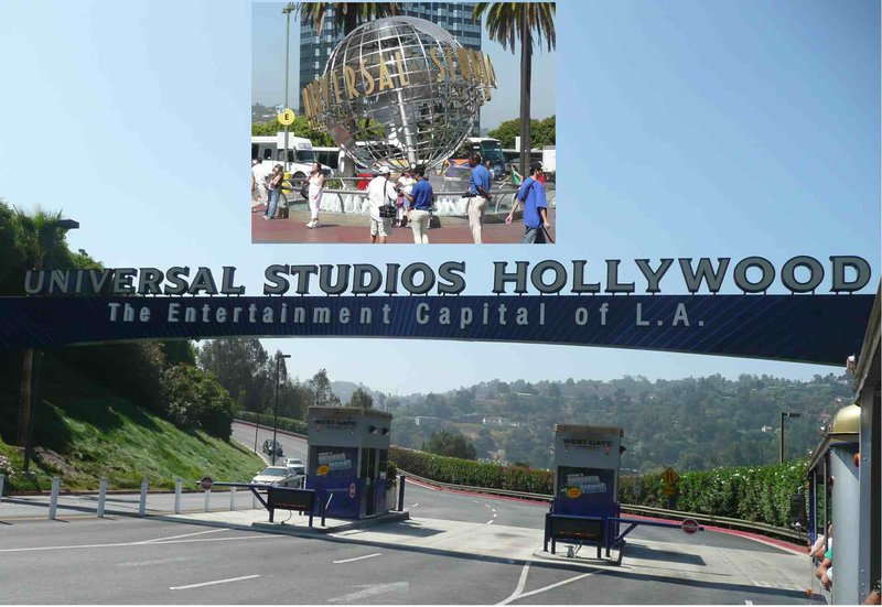 Los Angeles Universal Studios Entrance