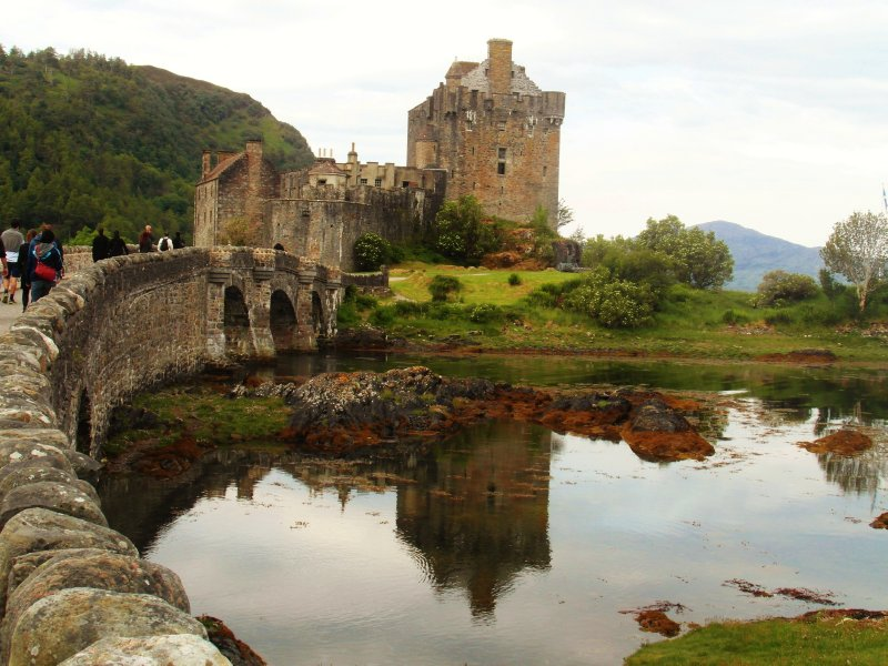 The beauty of an old castle..