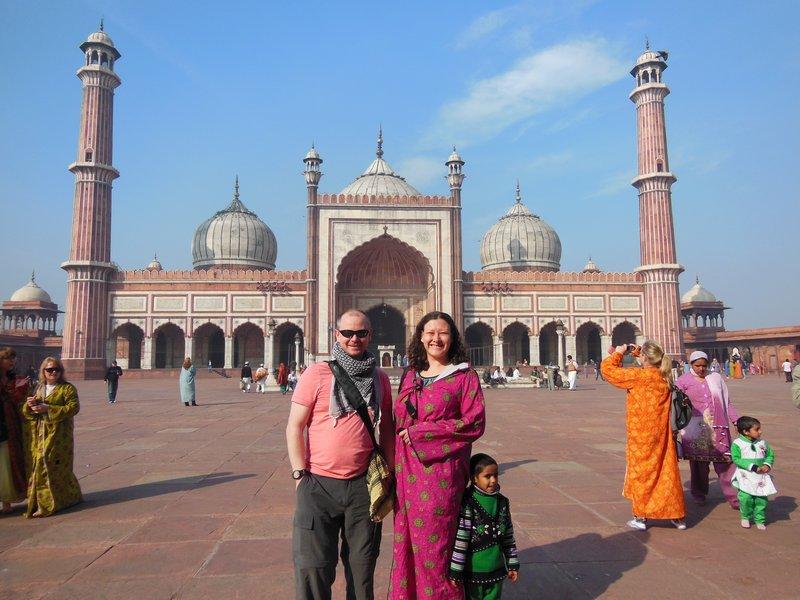 Toddler Jama Masjid