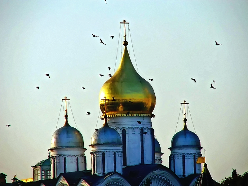 Domes of the Kremlin