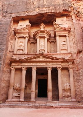 The Treasury also known as &#34;Al Khazneh&#34;