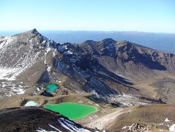 Emerald lakes, Tongariro NP