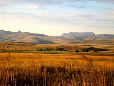 Drakensberg Countryside, S.Africa