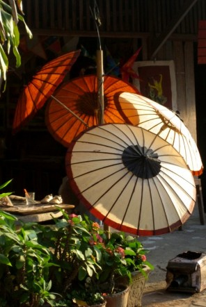 Lao umbrellas for sale