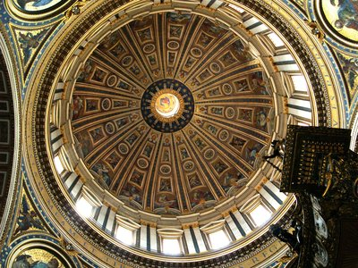 The Dome of Basilica de San Pietro