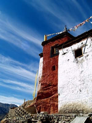 The Dhankar Monastery