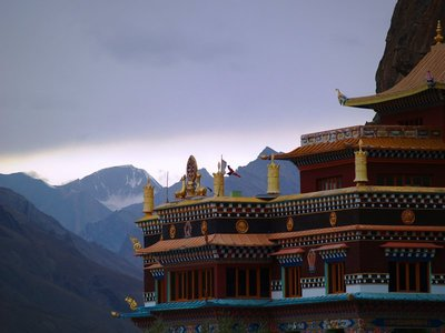 The Monastery at Kaza