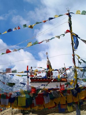 The Chorten at Kunzum La