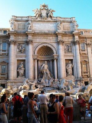 The Fontana del Trevi