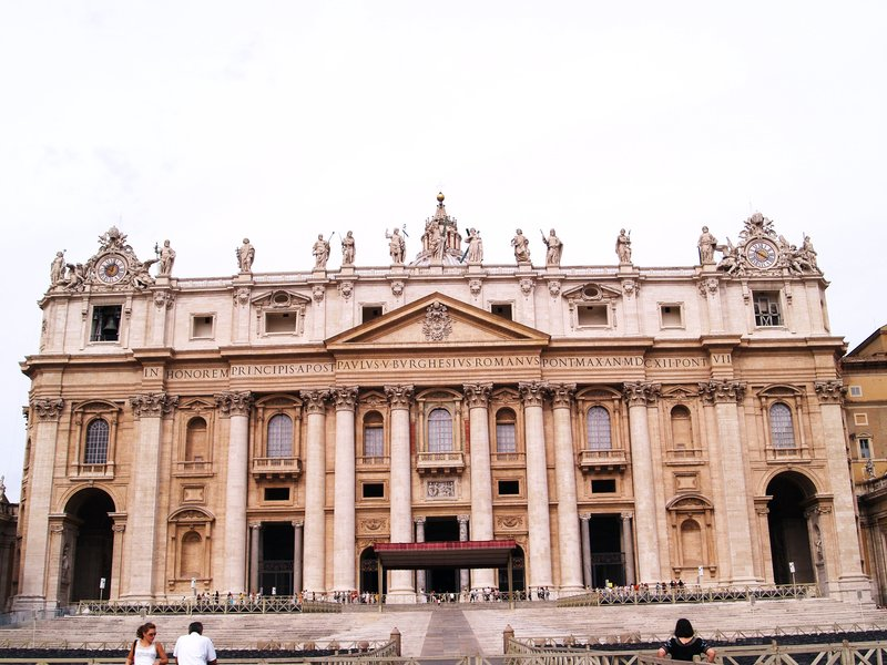 The Facade with the Loggia of the Blessings