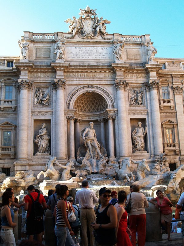 The Fontana del Trevi