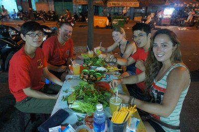 food tour in Ho Chi Minh