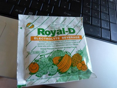 Royal-D, Powder of life for hang overs.