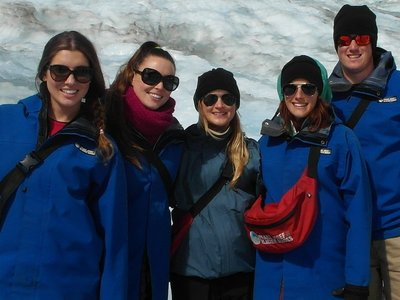 Our group for Franz Josef