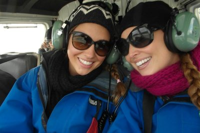 Helicopter ride to Franz Josef