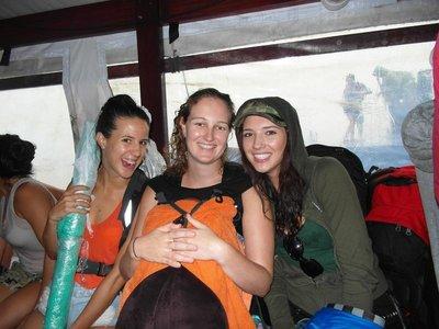 Boat to Ilha Grande