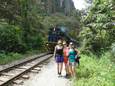 trekking in Machu Picchu