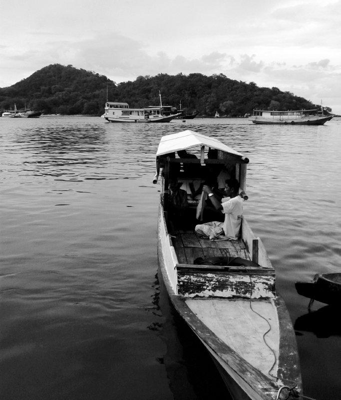 slowly fisherman