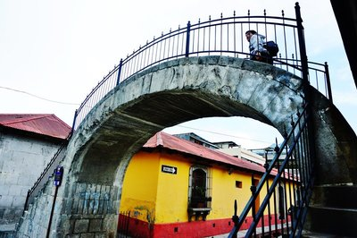 Cool bridge in Xela