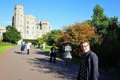 Dave at Windsor Castle