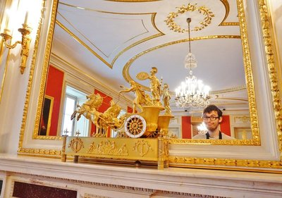 The Emperor inside the Royal Castle