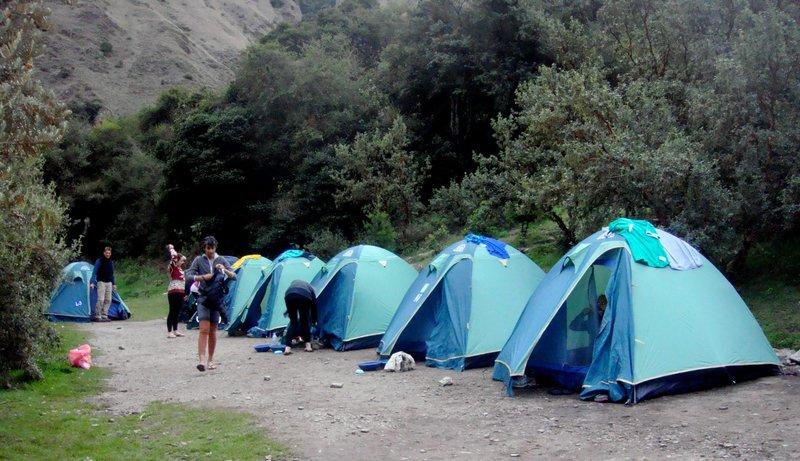 Inca Trail Campsite #1