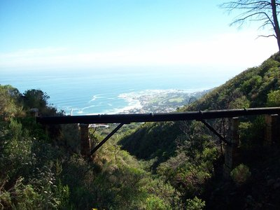 Der Pipeline Trail am Tafelberg
