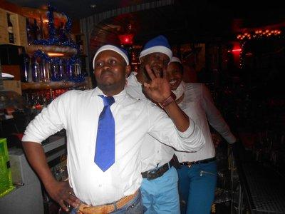 Die Barkeeper im Cubana