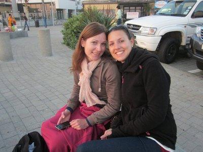 Die zwei Hübschen: Maria und ich