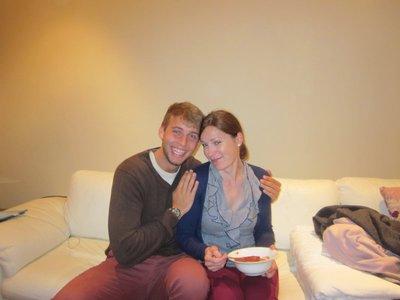 Abendessen: Maria und Stefan