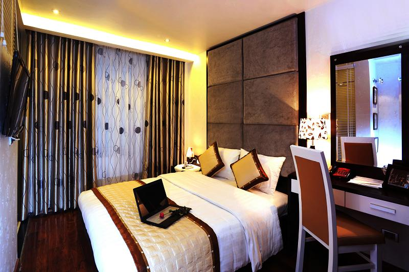 Superior room in Hanoi Victory Hotel