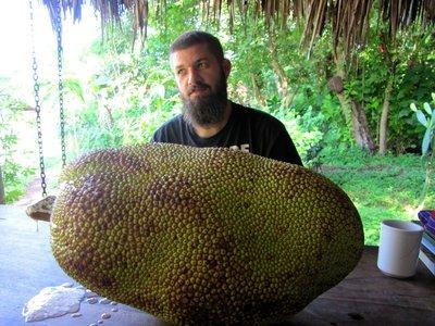 Spending a little QT with my jackfruit