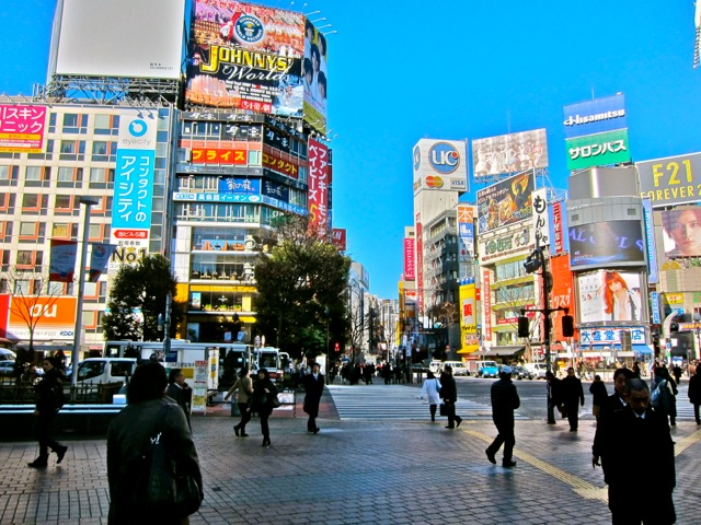 Downtown Shibuya
