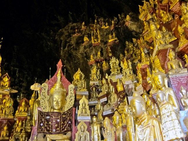 Natural cave pagoda